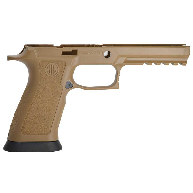 Sig Coyote Tan X-Five Full Size Grip Module for Sig P320 X5