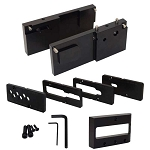 AR-10 308 80% Lower Receiver Drill Press Jig Kit in Black