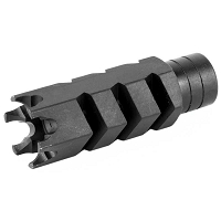 ATI Shark Prong AR-15 Muzzle Brake Steel w/ Side & Top Ports