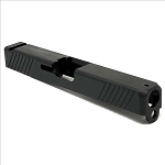 Alpha G17 EDC V1 CNC Stripped Glock Gen3 Slide Black Nitride