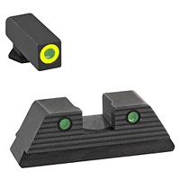 AmeriGlo Glock Sights Gen 5 G17/19 Trooper Green Tritium Set