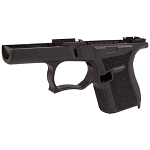 Black SS80 80% Lower Frame for Glock 43 Gen 3 Compatible Build