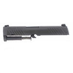 Black Sig P320 Subcompact 9mm Complete Upper Slide Assembly