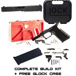 Complete Full 45ACP 21 Build Kit Black P80 80% Frame & Glock Parts