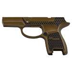 Custom Sig P320 Laser Stippling Burnt Bronze Subcompact Small