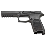 Custom Sig P320 Laser Stippling Full Grip Mod Tungsten Grey