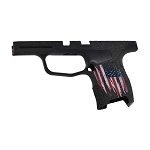 DRC Custom Sig P365 Grip Mod American Flag & Hand Stippled Grip
