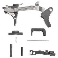 Glock 43/43X/48 Complete Lower Parts Kit - OEM LPK for SS80