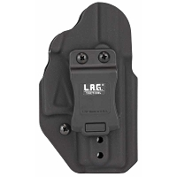 LAG Tactical MKII Black Ambi Glock 43/43X Kydex IWB Holster