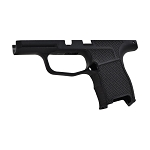 MD Customs Sig P365 Basketweave Laser Stippling Grip Module in Black