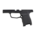 MD Customs Sig P365 Chevron Laser Stippling Grip Module in Black