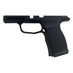 MD Customs Sig P365XL Fishnet Laser Stippling Grip Module in Black