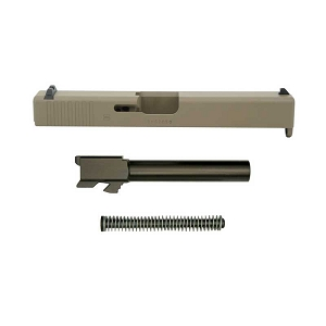 Magpul FDE Glock 17 Complete Slide Assembly Gen 3 OEM 9mm