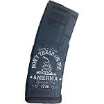 Magpul PMAG M2 30 Round AR Mag Don't Tread On Me Laser Engraved