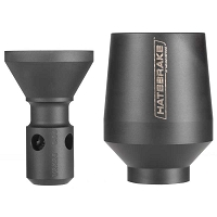 Maxim Defense AR15 Upgrade Hate Brake Muzzle Device - Round