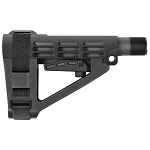 SB Tactical SBA4 Black AR15 Collapsible Pistol Brace