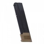 Sig P320 Full X-Five 10/21 Round 9mm Magazine X5 w/ FDE Base
