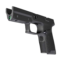 Sig P320 Lima5 Green Laser Compact Medium Grip Module Black