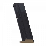 Sig P320 M17 Full Size 10/17 Round 9mm Magazine w/ FDE Base