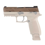 Sig P320 M18 Slide Compact Upper Assembly in Coyote Tan 9mm