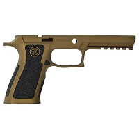 Sig P320 Stippling w/ Burnt Bronze X-Full Custom Grip Module