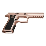 Sig P320 Stippling w/ Rose Gold X-Full Custom Grip Module