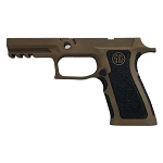 Sig P320 X-Carry Burnt Bronze w/ Extra Stippling Grip Module