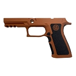 Sig P320 X-Carry Copper Suede Extra Stippled Grip Module