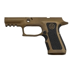 Sig P320 X-Compact Burnt Bronze & Extra Stippling Grip Module