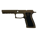 Sig P320 X-Full Burnt Bronze Extra Stippled Grip Module