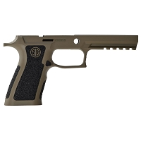 Sig P320 X-Full Cerakote FDE Grip Module with Stippled Grip