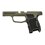 Sig P365 Custom Grip Module - Bazooka Green & Stippled Grip