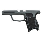 Sig P365 Custom Grip Module - Charcoal Green & Stippled Grip