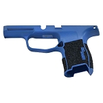 Sig P365 Custom Grip Module - NRA Blue & Stippled Grip