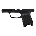 Sig P365 Hand Stippled Grip Module - Black w/ Stippled Grip