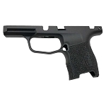 Sig P365 Manual Safety Hand Stippled Grip Module in Black