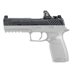 Sig RX P320 RXP Full Size Complete Upper Slide Assembly Black