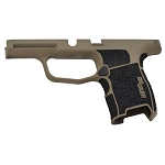 Sig Sauer Custom P365 Stippled and Coated FDE Grip Module