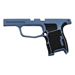 Sig Sauer Custom P365 Stippled and Coated Polar Blue Grip Module