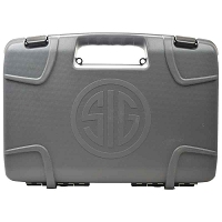 Sig Sauer Factory P320 Grey Gun Carry Case with Foam Insert