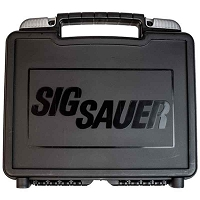 Sig Sauer Factory P320 Gun Carry Case Black with Foam Insert