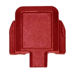 Sig Sauer P320 USMC Red Slide Rear Cap OEM Slide Cover Plate