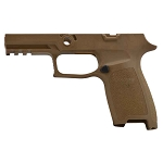 Sig Sauer P320 Carry M18 Coyote Tan Grip Module Assembly