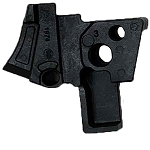 Sig Sauer P320 Upgraded Sear Housing Post-Upgrade in Black