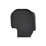 Sig Sauer P365 Slide Cover Plate Black Slide Cap Non-Textured