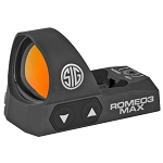 Sig Sauer Romeo 3 Max - 6 MOA Sig Red Dot Reflex Sight in Black