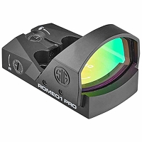 Sig Sauer Romeo1 Pro Reflex Sight | 3 MOA Red Dot in Black