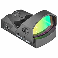 Sig Sauer Romeo1 Pro Reflex Sight 6 MOA Red Dot in Black