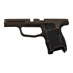 Sig Stippling and Coated P365 Grip Module in Midnight Bronze