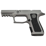 Sig X-Compact P320 Savage Stainless & Stippling Grip Module